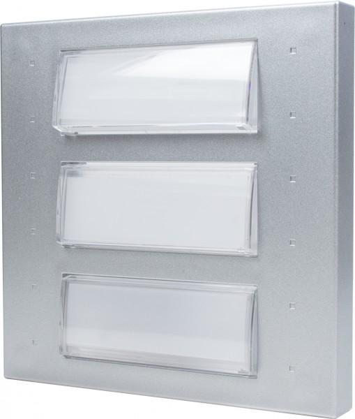 DoorLine Classic Klingeltastenmodul 3er (silber)