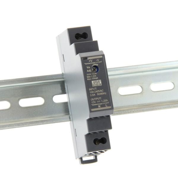 Netzteil Hutschiene HDR-15-12