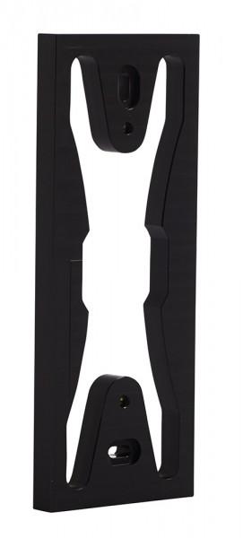 DoorLine Aufputzrahmen für DoorLine Slim und Slim Dect Schwarz